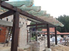 Stogų dengimas stogai, stogų remontas, skardinimas - nuotraukos Nr. 11