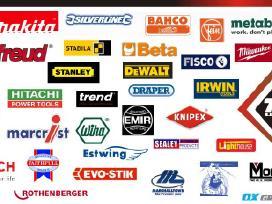 Prekiaujame įvairiais įrankiais Makita, Bosch.
