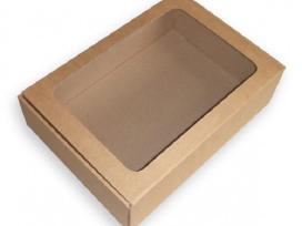 Dėžutė dovanoms su langeliu