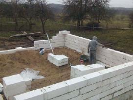 Namų statyba ir renovacija visus metus!