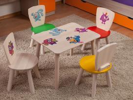 Vaikiški staliukai, kėdutės