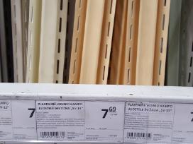 Plastikinės lauko juostelės už mažiau puse kainos.