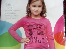 Nauji mergaičių marškinėliai
