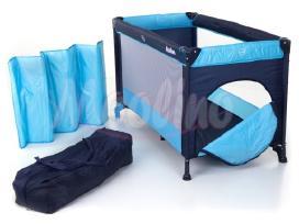 Kūdikių žaidimų maniežas-kelioninė lovytė