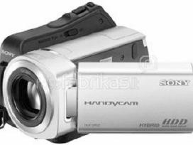 Mažai naudota video kamera Sony Dcr Sr35e