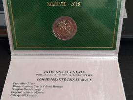 Vatikano 2 eurai 2018 Kultūros paveldui