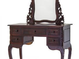 Nauji kosmetiniai staliukai su veidrodžiais