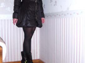 S d. Cristina Gavioli striukė - paltas juodos sp. - nuotraukos Nr. 4