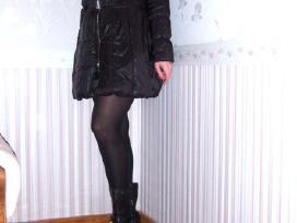 S d. Cristina Gavioli striukė - paltas juodos sp. - nuotraukos Nr. 2