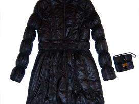 S d. Cristina Gavioli striukė - paltas juodos sp. - nuotraukos Nr. 3
