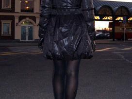 S d. Cristina Gavioli striukė - paltas juodos sp. - nuotraukos Nr. 6