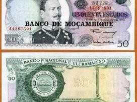 Mozambikas 50 Escudos 1977m. P116 Unc
