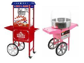 Cukraus vatos ir popkornų aparatų nuoma 35 eur