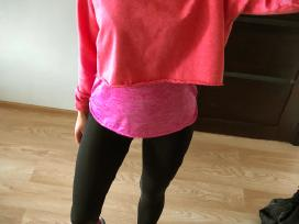 Rožinis, trumpas džemperis