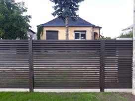 Skardos lankstiniai, skardines tvoros - nuotraukos Nr. 22