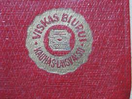 Kiseninis Kalendorius 1928 metai .Zr. Foto.