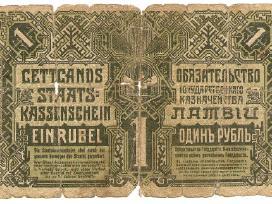 Latvija rubel 1919 P2a