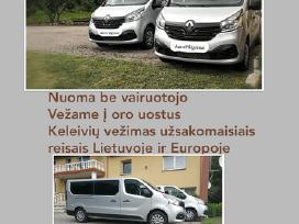 Išnuomojami 2018m Renault Trafic