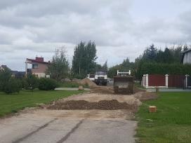 Aplinkos tvarkymas.aikštelių, kelių įrengimas - nuotraukos Nr. 3