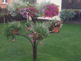Lauko gėlių stovas ir kiti kalvio gaminiai