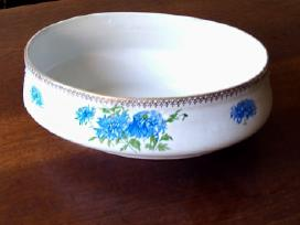 Keramikinė sriubinė ovali ir apvali su dangčiu