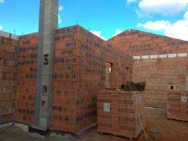 Muro darbai - kaminų restauravimas
