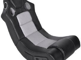 Muzikinė supamoji kėdė, dirbtinė oda 241960 vidaxl