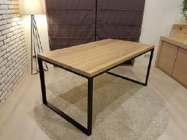 Modernus valgomojo stalas (ąžuolas)