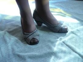 Nauji verstos odos bateliai-basutės