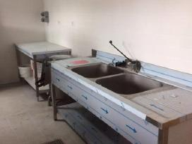 Nerūdijančio plieno baldų gamyba