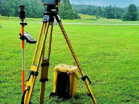 Geodezijos ir topografijos darbai