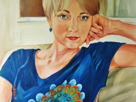 Portretai ir tapyba iš nuotraukų