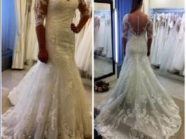 2017 kolekcijos vestuvinė suknelė
