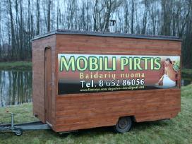 Mobili pirtis, mobilios pirties nuoma