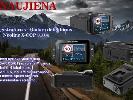 Radar detektorius-vaizdo Registratorius X-cop9100s