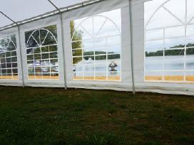 Pavėsinės palapinės palapinių paviljonų nuoma 5x10 - nuotraukos Nr. 2