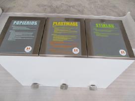 Šiukšliu dėže rūšiavimui, šiukšliadėže rūšiavimui