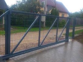 Stumdomi kiemo vartai nuo 350 eur