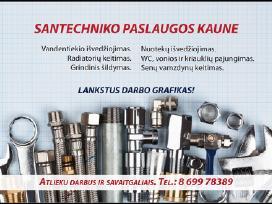 Santechnikas Kaune ir Kauno rajone