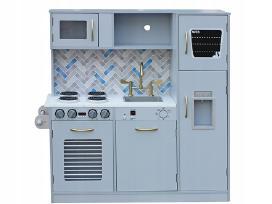 Medinės virtuvėlės su priedais - nuotraukos Nr. 2
