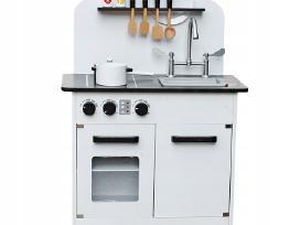 Medinės virtuvėlės su priedais - nuotraukos Nr. 3