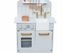 Medinės virtuvėlės su priedais - nuotraukos Nr. 4
