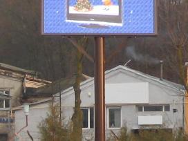 Reklaminis spalvotas Led lauko ekranas