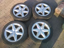 Peugeot ratlankiai + dygliuotos padangos