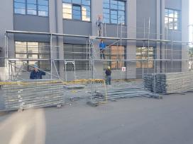 Fasadų šiltinimas Renovacija Pastolių nuoma - nuotraukos Nr. 14
