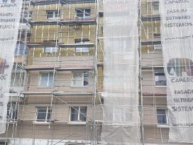 Fasadų šiltinimas Renovacija Pastolių nuoma Fasado - nuotraukos Nr. 3