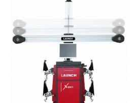 Launch X-861 3D ratų suvedimo stendas. Akcija