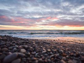 Natūralūs Baltijos jūros akmenukai