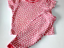 Pižama mergaitei trumpom rankovėm