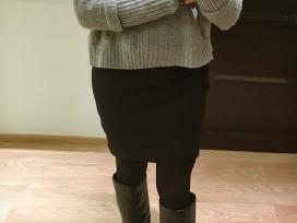 Juodas body-con sijonas